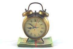 Cronometre-o dinheiro Imagem de Stock Royalty Free
