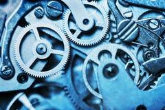 Cronometre o mecanismo feito na técnica da tonificação imagem de stock royalty free