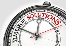 Cronometre para o pulso de disparo do conceito das soluções Fotografia de Stock Royalty Free