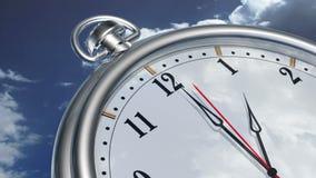 Cronometri il concetto video d archivio