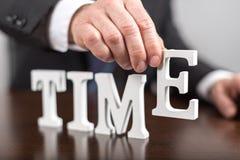 Cronometri il concetto Fotografie Stock