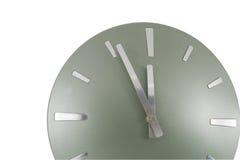 Cronometri (minuto 5 a 12) sopra bianco Immagini Stock Libere da Diritti
