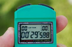 Cronometro 2 Fotografie Stock