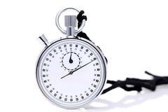 Cronometro analogico del metallo Immagine Stock Libera da Diritti