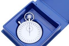 Cronometro analogico del metallo Fotografie Stock