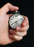 Cronometro della holding della mano Fotografia Stock Libera da Diritti
