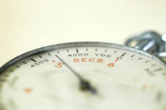Cronometro della torpedine obliquo Fotografia Stock