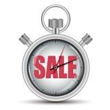 Cronometro di concetto di vendita di tempo Fotografia Stock Libera da Diritti