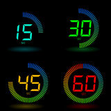 Cronometro di Digitahi Immagini Stock