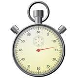 Cronometro, illustrazione realistica. fotografie stock libere da diritti