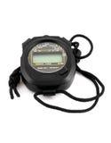 Cronometro nero Fotografia Stock Libera da Diritti