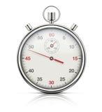 Cronometro realistico Fotografia Stock Libera da Diritti