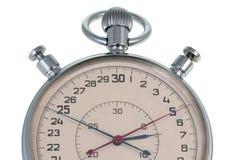 Cronometro su un bianco Fotografia Stock
