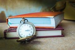 Cronometro sulla tavola fotografia stock