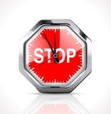 Cronometro - tempo di completamento illustrazione di stock