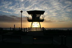 Cronulla Life Guard Tower Royalty Free Stock Photography