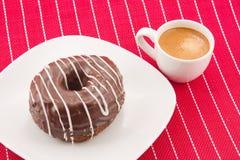 Cronut and coffee Stock Photo