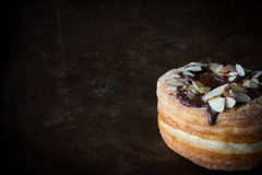 Cronut with Copy Space Horizontal Stock Images