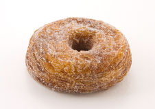 Cronut. A half-donut and half-croissant pastry Royalty Free Stock Photo