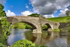 Crook of Lune Bridge Stock Photography
