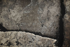 Crooked cobblestone floor Stock Photos
