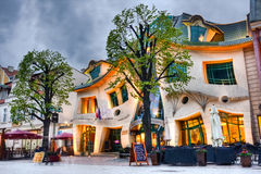 Crooked house Stock Photography