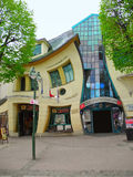 Crooked House in Sopot. Stock Photo