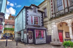 The crooked house of Windsor. Stock Photography