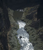 Crooked River Gorge, Central Oregon. A view of the Crooked River Gorge near Terrebonne, Oregon royalty free stock images