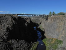 Crooked River Gorge Royalty Free Stock Images