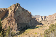 Crooked River in Oregon Royalty Free Stock Images
