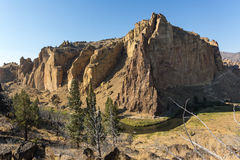 Crooked River in Oregon Royalty Free Stock Photos