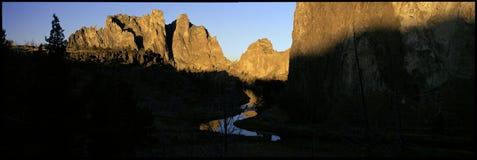 Crooked River at Smith Rock Royalty Free Stock Photo