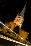 Crooked spire. The famous crooked spire in Chesterfield Royalty Free Stock Images