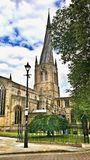 The Crooked Spire Royalty Free Stock Photos