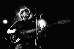 The Crookes (indie rock band from Sheffield) performs at Bikini Royalty Free Stock Image
