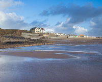 Crooklets beach Bude Cornwall Royalty Free Stock Photo