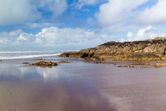 Crooklets beach Bude Cornwall Royalty Free Stock Images
