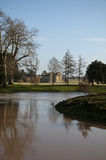 Croome Court stately home. Croome Park and croome Court stately home in worcestershire royalty free stock photo