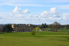 Croome domstol, Croome D'Abitot, Worcestershire, England Royaltyfria Foton