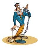 Crooner Bob Royalty Free Stock Photos