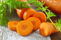 Crop carrot Stock Photography