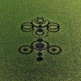 Crop circles Royalty Free Stock Photo