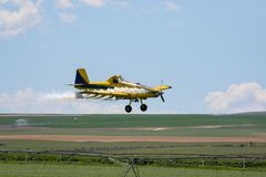 crop duster Obraz Royalty Free