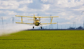 Crop duster stock images