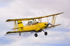 Crop duster Royalty Free Stock Photo