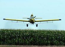 crop duster obraz stock