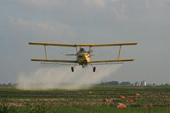 Crop Duster Stock Photography