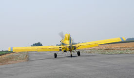 Crop Duster Taking Off 2 Stock Image