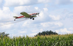 Crop Dusting Royalty Free Stock Image